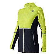 Womens New Balance Beacon Warm Up Hooded Jackets