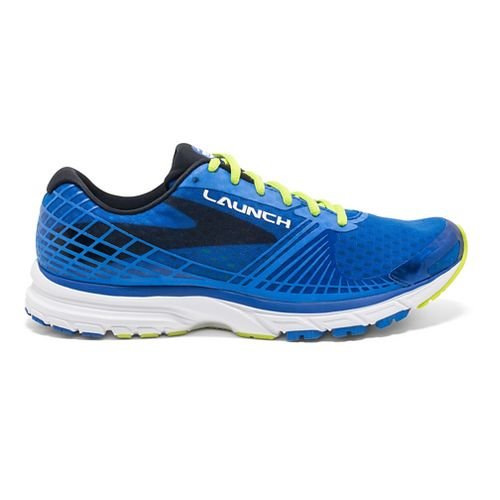Mens Brooks Launch 3 Running Shoe - Electric Blue 9