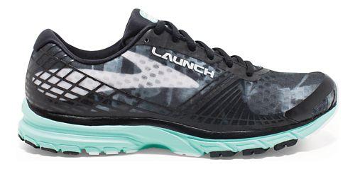 Womens Brooks Launch 3 Running Shoe - Black/Mint 12
