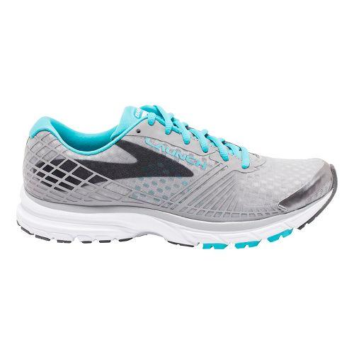 Womens Brooks Launch 3 Running Shoe - Grey/Blue 9.5