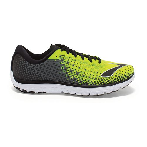 Mens Brooks PureFlow 5 Running Shoe - Nightlife/Castlerock 10