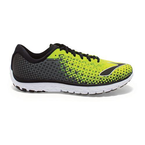 Mens Brooks PureFlow 5 Running Shoe - Nightlife/Castlerock 9
