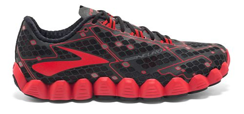 Mens Brooks Neuro Running Shoe - Black/Red 11