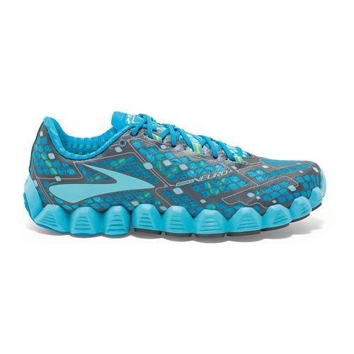 Womens Brooks Neuro Running Shoe - Blue 5