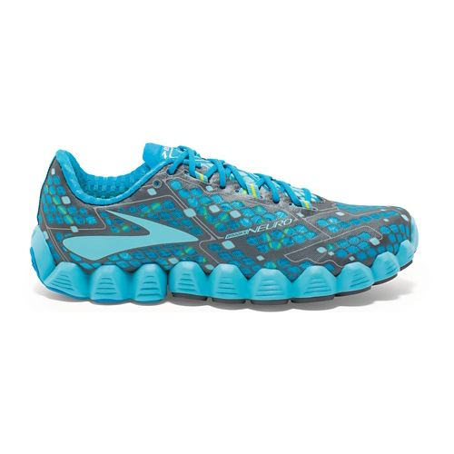 Womens Brooks Neuro Running Shoe - Blue 7.5