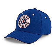 Mens Under Armour Captain America Low Crown Cap Headwear
