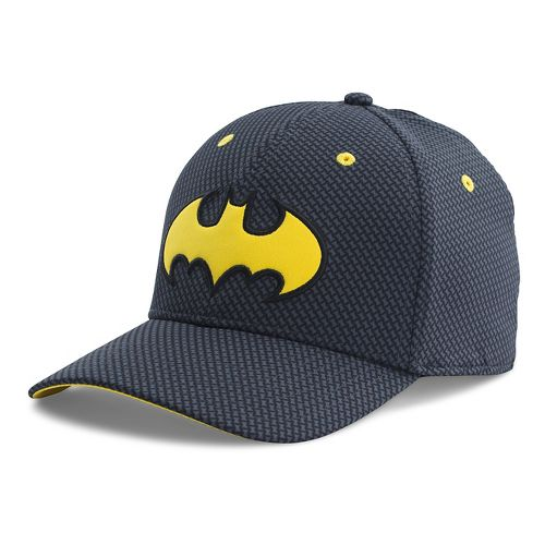 Mens Under Armour Batman Low Crown Cap Headwear - Black/Taxi XL/XXL
