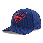 Mens Under Armour Superman Low Crown Cap Headwear