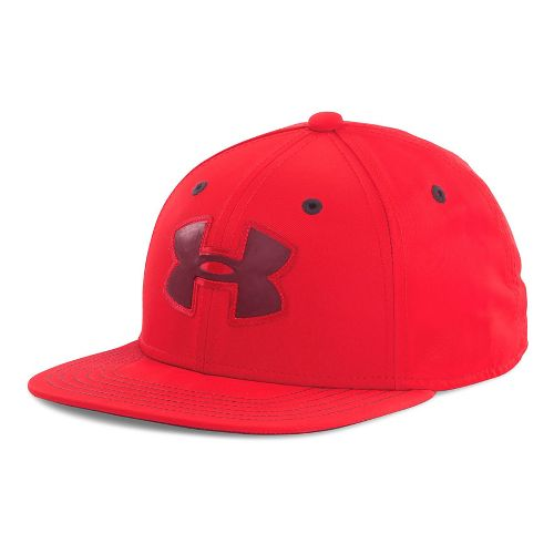 Under Armour Boys Huddle 2.0 Snapback Cap Headwear - Risk Red/Deep Red