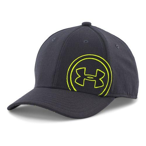 Under Armour Boys Billboard Cap Headwear - Black/Anthracite XS/S