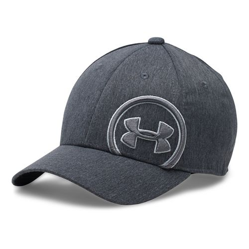 Under Armour Boys Billboard Cap Headwear - Black/Overcast Grey XS/S