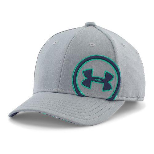 Under Armour Boys Billboard Cap Headwear - True Grey/Jade S/M