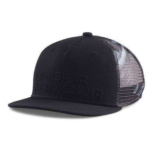 Under Armour Boys Trucker Mesh Snapback Cap Headwear - Black/Anthracite