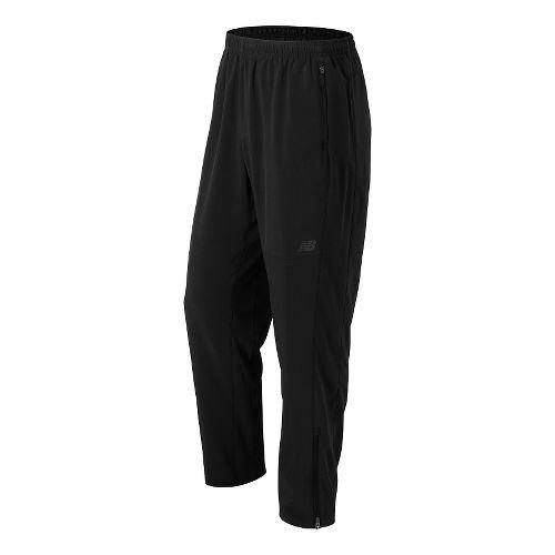 Mens New Balance Windcheater Pants - Black M