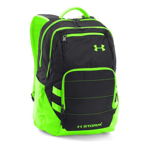 Under Armour Camden Backpack II Bags - Black/Hyper Green