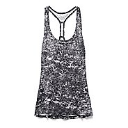 Womens Under Armour Fly By Allover Printed Mesh Tank Technical Tops