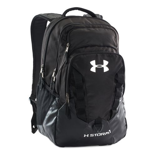 Under Armour Recruit Backpack Bags - Black/Silver