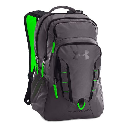 Under Armour Recruit Backpack Bags - Graphite/Black