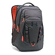 Under Armour Recruit Backpack Bags - Graphite/Orange