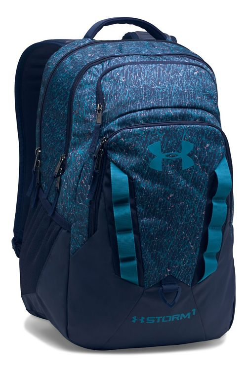 Under Armour Recruit Backpack Bags - Midnight Navy/Blue