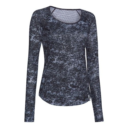 Women's Under Armour�Fly by Allover Printed Mesh Longsleeve