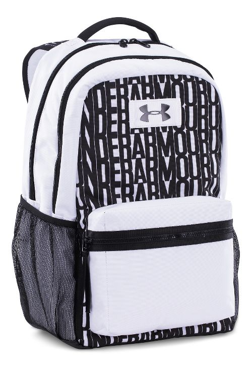 Under Armour Watch Me Backpack Bags - White/Black