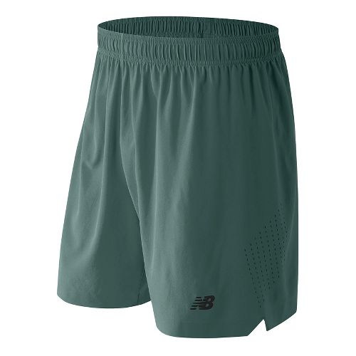 Mens New Balance 7'' Shift Unlined Shorts - Typhoon XL