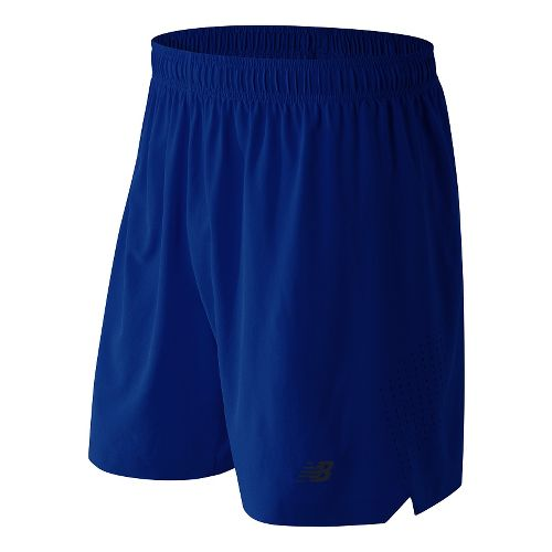 Mens New Balance 7'' Shift Unlined Shorts - Marine Blue L
