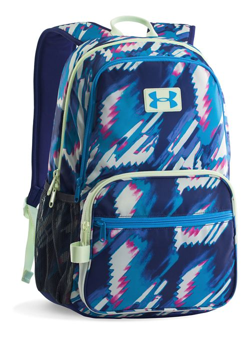 Under Armour Girls Great Escape Backpack Bags - Europa/Jazz Blue