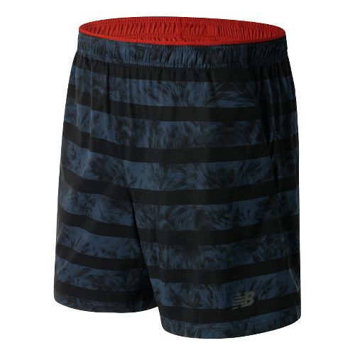 Mens New Balance 7'' Performance Woven 2-in-1 Shorts - Galaxy L