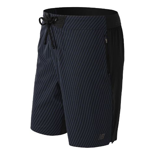 Mens New Balance Stretch Woven Board Unlined Shorts - Black XXL