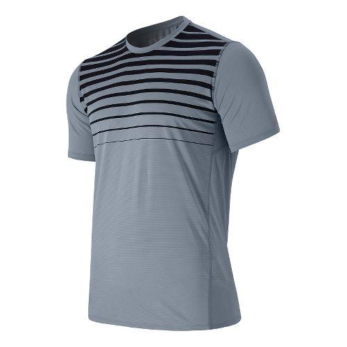 Men's New Balance�Accelerate Short Sleeve Printed Top