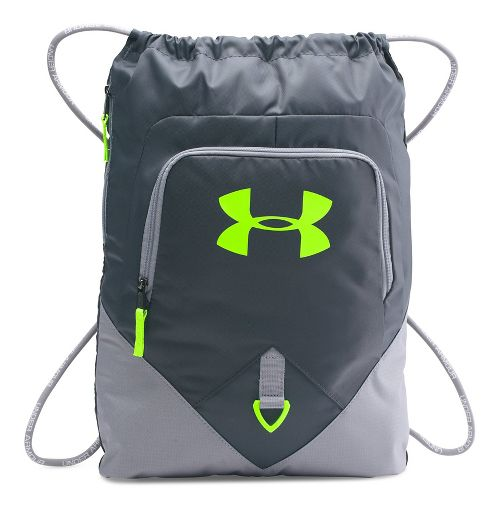 Under Armour Undeniable Sackpack Bags - Steel/Stealth Grey