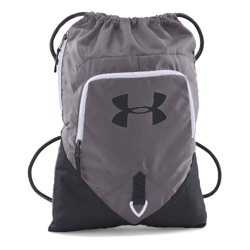 Under Armour Undeniable Sackpack Bags - Graphite/White