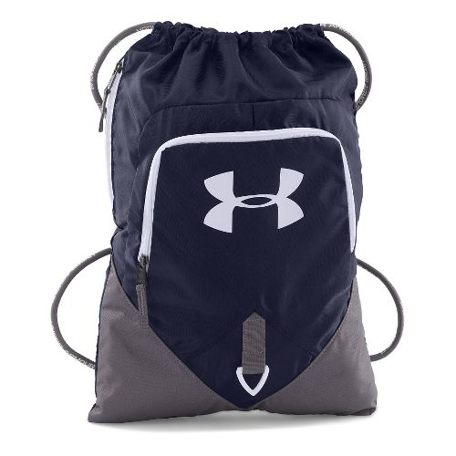 Under Armour Undeniable Sackpack Bags - Midnight Navy/White
