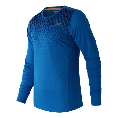 Men's New Balance�Accelerate Long Sleeve Printed Top