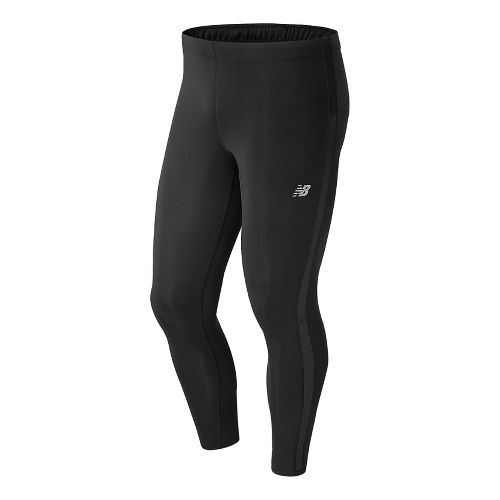 Mens New Balance Accelerate Compression Tights - Black M