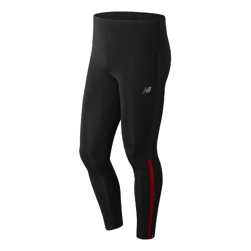 Mens New Balance Accelerate Leggings Tights - Atomic XXL