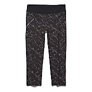 Womens Under Armour Stunner Printed Woven Capri Tights