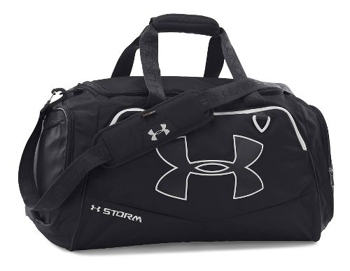 Under Armour Undeniable MD Duffel II Bags - Black/White