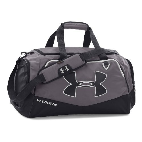 Under Armour Undeniable MD Duffel II Bags - Graphite/White
