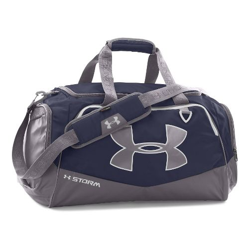 Under Armour Undeniable MD Duffel II Bags - Midnight Navy/White