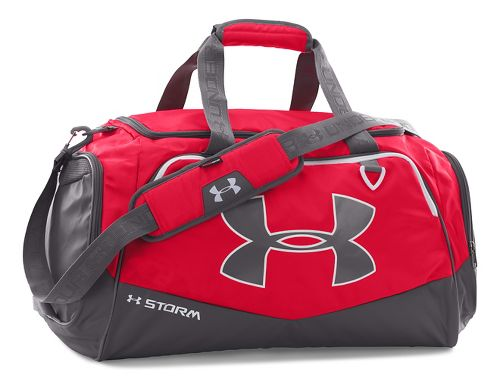 Under Armour Undeniable MD Duffel II Bags - Red/White