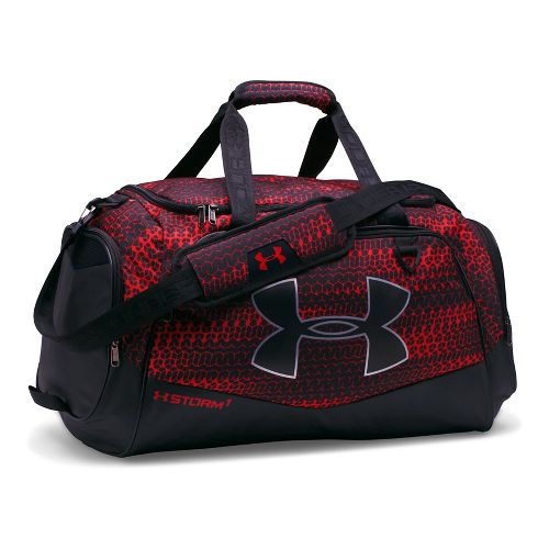 Under Armour Undeniable MD Duffel II Bags - Red/Black