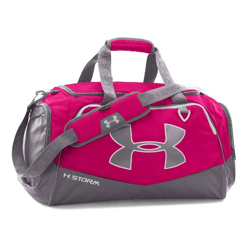 Under Armour Undeniable MD Duffel II Bags - Tropic Pink/White