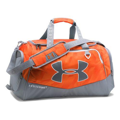 Under Armour Undeniable MD Duffel II Bags - Orange/Steel