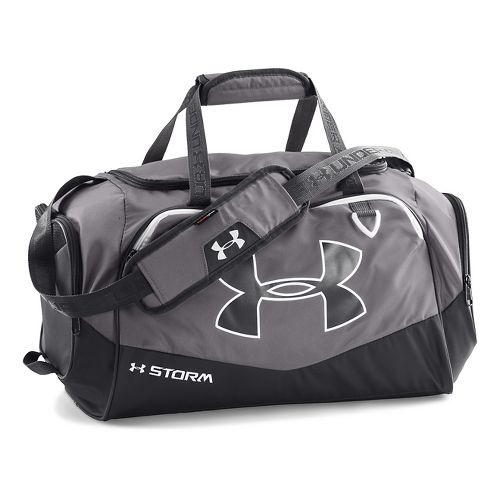 Under Armour Undeniable Small Duffel II Bags - Graphite/White