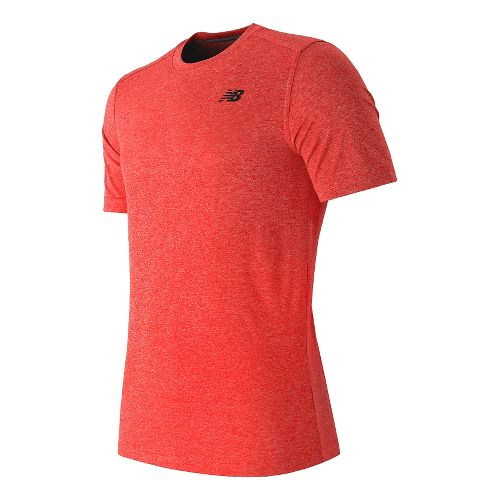 Men's New Balance�Short Sleeve Heather Tech Tee