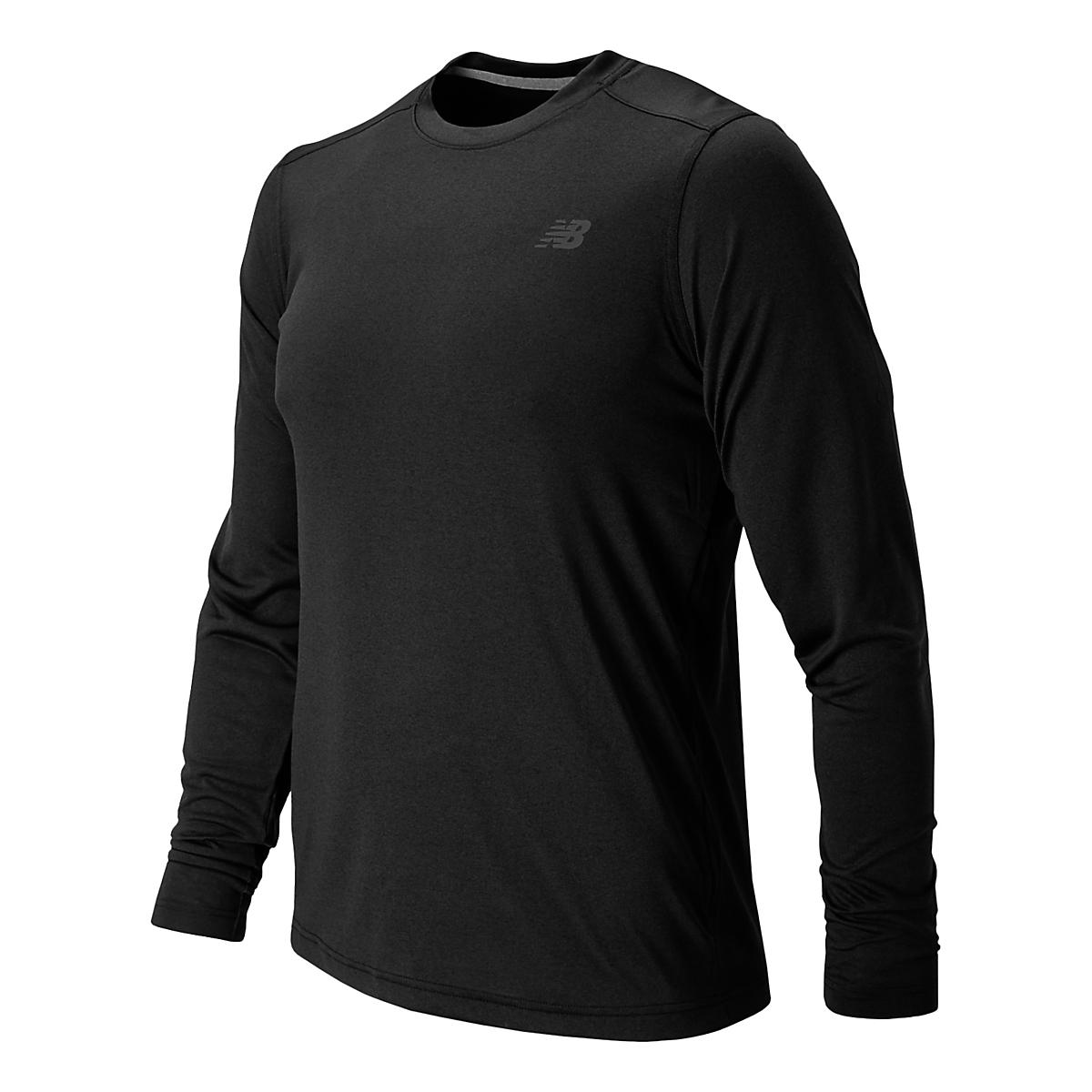 Men's New Balance�Long Sleeve Heather Tech Tee