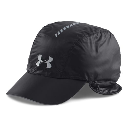 Womens Under Armour Windstopper Trapper Headwear - Black/Reflective